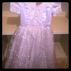 Other - White Girls Party Dress 8-10 years